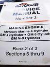 1985  MERCRUISER # 3 MERCURY MARINE 4 CYL.,GM 4 CYL SERVICE MANUAL 90-95693 1085