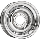 "Wheel Vintiques Chrome Gennie Wheel 15x5 4 1/2,4 3/4 2 3/4"" Back Space"