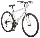 Pacific 700C Men's Bryson Hybrid Bike Bicycle - Silver