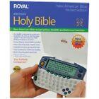 """Royal 39155W 6.20"""" x 5.40"""" x 2.10"""" Electronic Bible"""