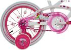 Dynacraft 16 Girls Hello Kitty Design Bike For Kids Girls Ride Training Wheels