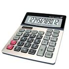 Calculator, 12-Digit Financial Calculators, Solar/Battery Dual Power...