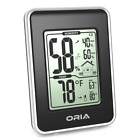 Indoor Home Digital Hygrometer Thermometer Temperature Humidity Monitor Black