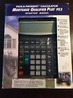 Mortgage Qualifier Plus PX2 Desktop Calculator Model 43442