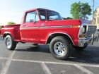 1979 Ford F-150 Lariat 1979 FORD F100 RACE RED LARIAT MAGNA FLOW