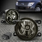 FOR 10-15 MIT MONTERO SPORT PB/PC SMOKED LENS OE DRIVING FOG LIGHT LAMP+SWITCH