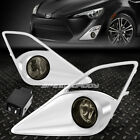 FOR 13-16 SCION FRS/FT86/GT86 SMOKED LENS OE DRIVING PAIR FOG LIGHT LAMP+SWITCH