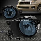 FOR 08-16 TOYOTA SEQUOIA SUV SMOKED LENS OE DRIVING PAIR FOG LIGHT LAMP+SWITCH
