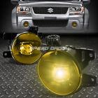 FOR 06-14 SUZUKI GRAND VITARA YELLOW LENS OE DRIVING PAIR LED FOG LIGHT LAMP