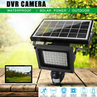 Solar Power Waterproof Outdoor Security DVR Camera Motion Detection+Night Vision