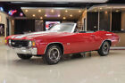 1972 Chevrolet Chevelle Convertible Convertible! GM 454ci V8, Muncie 4-Speed Manual, PS, PB, Disc, Cowl Induction!