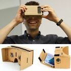 Cardboard Quality 3d VR Virtual Reality Glasses For iPhone Google Nexus HTC