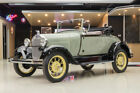 1929 Ford Model A Roadster Nut & Bolt, Frame Off Restored! Ford 201ci I4 Engine, Standard 3-Speed Manual!