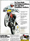 #26 CAN AM QUALIFIER ENDURO SKIP OLSON AD FRONT CAMEL CIGARETTE AD BACK