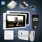 "HOMSECUR 7"" Hands-free Video&Audio Smart Doorbell+Black Camera for Home Security"