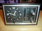 General Electric - Retro Clock radio - MODEL 7-4725 A - Tested in Working Order