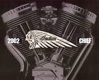 2002 INDIAN CHIEF MOTORCYCLE LARGE DELUXE BROCHURE -CHIEF-ROADMASTER