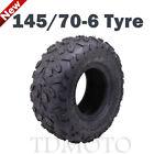 145/70-6 Tubeless Tires High Quality 50/70/90/110cc For Taotao Quad ATV Go Kart