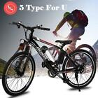 """36V 19/25/26"""" Ebike Electric Mountain Bike Sport Bicycle+Lithium battery 5 Type"""