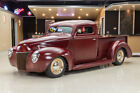 Ford Pickup Street Rod Custom '40 Pickup! 350ci V8, TH350 Automatic, Ford 8 in, Air Ride, Rat Rod