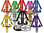 STR 5-Point SFI Approved Race Harness Belt NASCAR Latch Buckle - All Colours