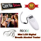 Mini Portable LCD Digital Breath Alcohol Tester Analyzer Breathalyzer Detector