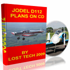 BUILD YOUR OWN ULTRALIGHT AIRPLANE  JODEL D112 PLANS ON CD PLUS EXTRAS