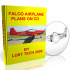 BUILD YOUR OWN ULTRALIGHT AIRPLANE  FALCO PLANS ON CD PLUS EXTRAS