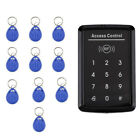 Access Control Touch RF Card Reader Password Keypad Door Safe Entry Control
