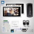 """HOMSECUR 7"""" Video Door Entry Phone Call System+Metal Case Camera for Apartment"""