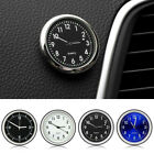 Car Mini Luminous Auto Air Vent Clip Clock Interior Quartz Analog Watch Decor