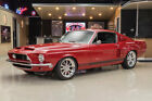 Ford Mustang Fastback Shelby GT500 Recreation Fresh Restomod Build! Ford 428ci FE, Tremec 5-Speed Manual, 4-Whl PDB, Leather!