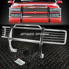 FOR 88-99 CHEVY/GMC CK GMT400 CHROME STAINLESS STEEL FRONT BUMPER GRILL GUARD
