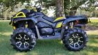 NO RESERVE CAN AM OUTLANDER 1000 XMR ATV 4X4 MUD READY X MR USED BIKE LOW MILES