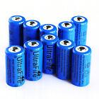 10pcs Ultrafire 16340 CR123A 3.7V 1200mAh Rechargeable Li-Ion Battery Bat Cell