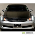 Fits 2003-2007 G35 2Dr Coupe Black CCFL Halo Projector Headlights w/DRL Led