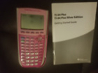 Texas Instruments TI-84 Plus Silver Edition Graphing Calculator Hot Pink