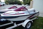 Pair of Yamaha Waverunners & Sea Do with 3 Place Trailer PWC