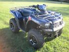 2010 KAWASAKI BRUTE FORCE 750 EFI LIMITED EDITION w/PLOW AND WINCH