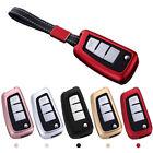 Car 3-Button Remote Smart Key Fob Case Cover for Tiida Sylphy Lannia Qashqai USA