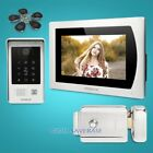 """7"""" Wired Video Door Entry Security Intercom+Motion Detection for House/Flat"""