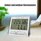 1pc Digital LCD Outdoor Indoor Weather Thermometer Hygrometer Humidity Meter C/F