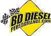 BD Diesel Xtruded Trans Oil Cooler - 1/2 inch Cooler Lines