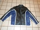 Mens Leather Motorcycle Riding Jacket 5XL LEATHER MAN BRAND padded insulated