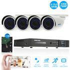 OWSOO 8CH 1080P 5-in-1 AHD DVR 1TB HDD 4pcs 720P Bullet CCTV IR Camera Kit E7I2