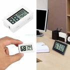 White Home Mini Digital LCD Temperature Humidity Meter Thermometer Hygrometer