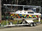 Westerly 23 Pageant MkII saiilboat with custom aluminum trailer