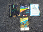 1986 Oldsmobile Cutlass Owners Manual Set and Map