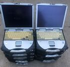 Lot of 10) Touchscreen Panasonic ToughBook CF-28 Laptops for PARTS use ONLY!