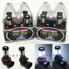 M-Box Combo H11 9005-HB3 Samsung LED 57-SMD 6K White 12V Bulb #Ht5 High/Low Beam